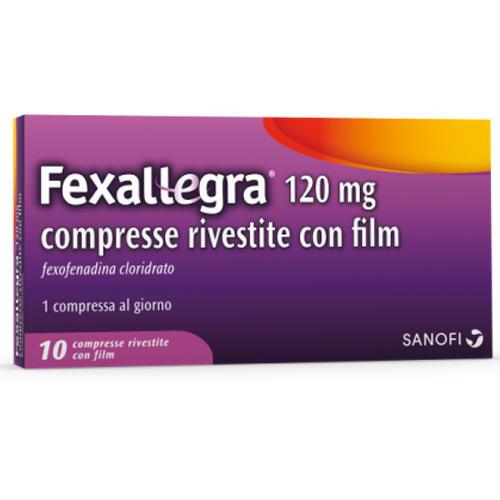 Sanofi Spa Fexallegra 10 Compresse Rivestite 120 Mg