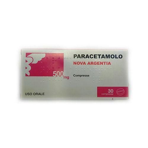 Nova Argentia Spa Paracetamolo 30 Compresse 500 Mg