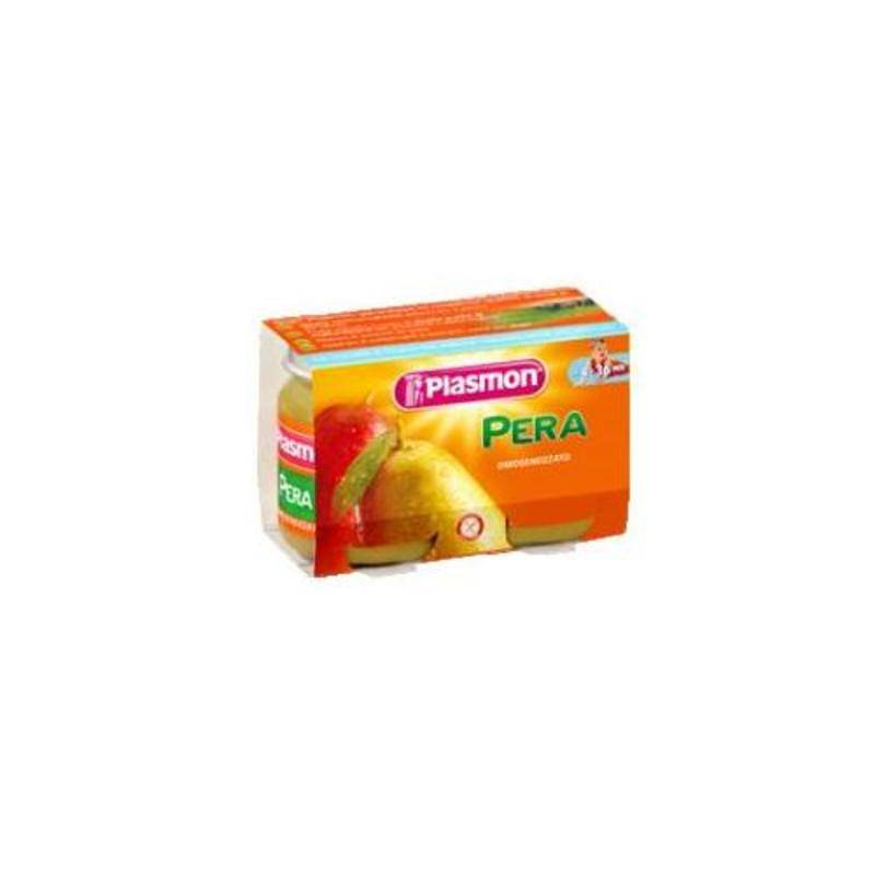 Plasmon Omog Pera 6x104g
