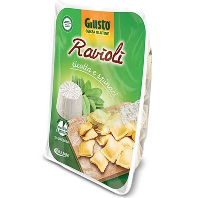 Giusto S/g Ravioli Ricotta/spi