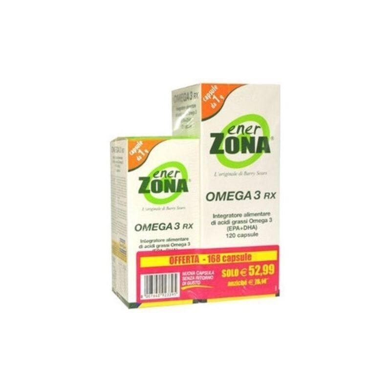enervit Enerzona Omega 3 Rx 120+48 Ofc