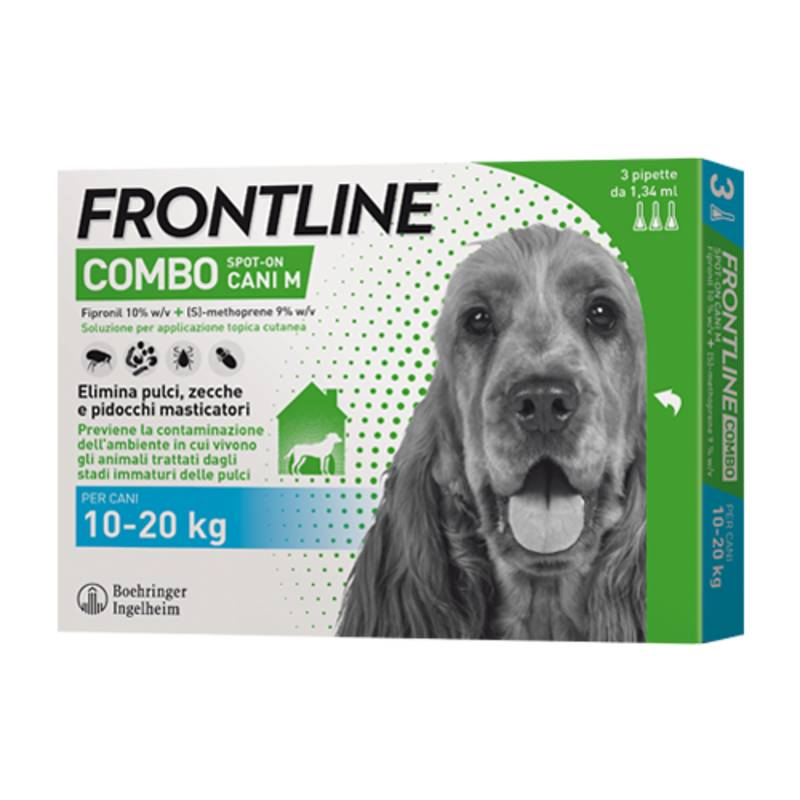 Frontline Combo Spot-On Cani M