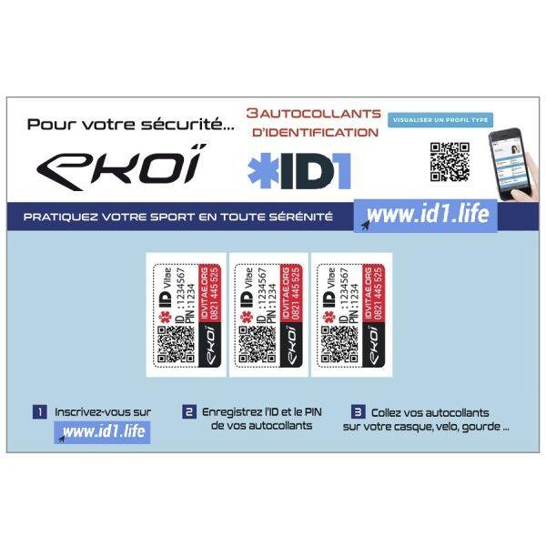 Ekoï kit id1 life 3 adesivi
