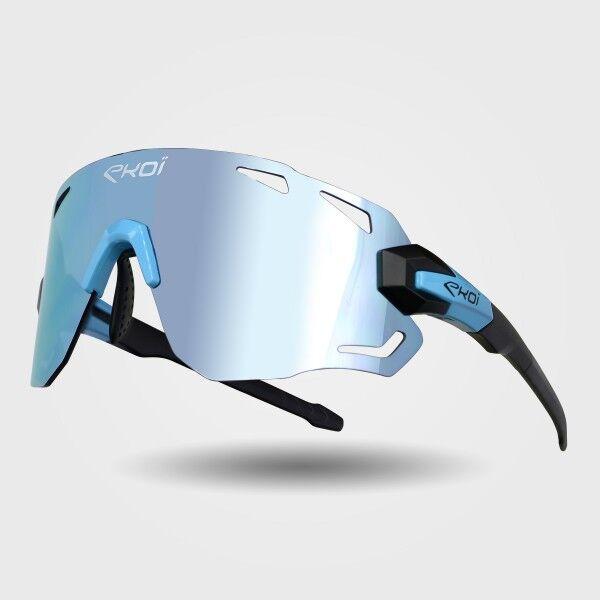 Ekoï lunettes ekoi premium 70 noir mat bleu