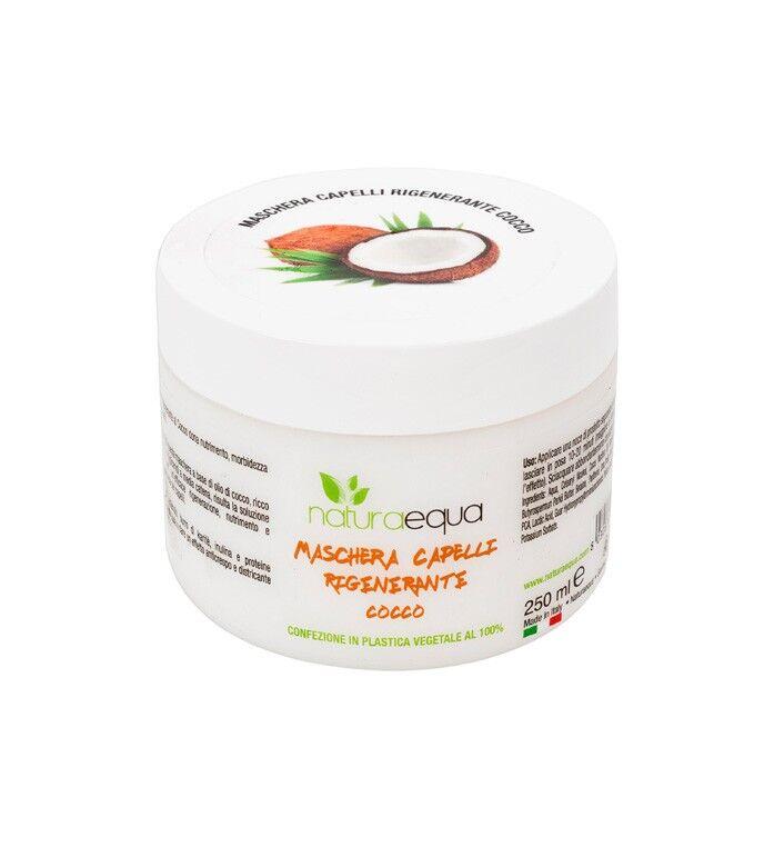 bio + naturaequa maschera capelli cocco bio (250 ml)