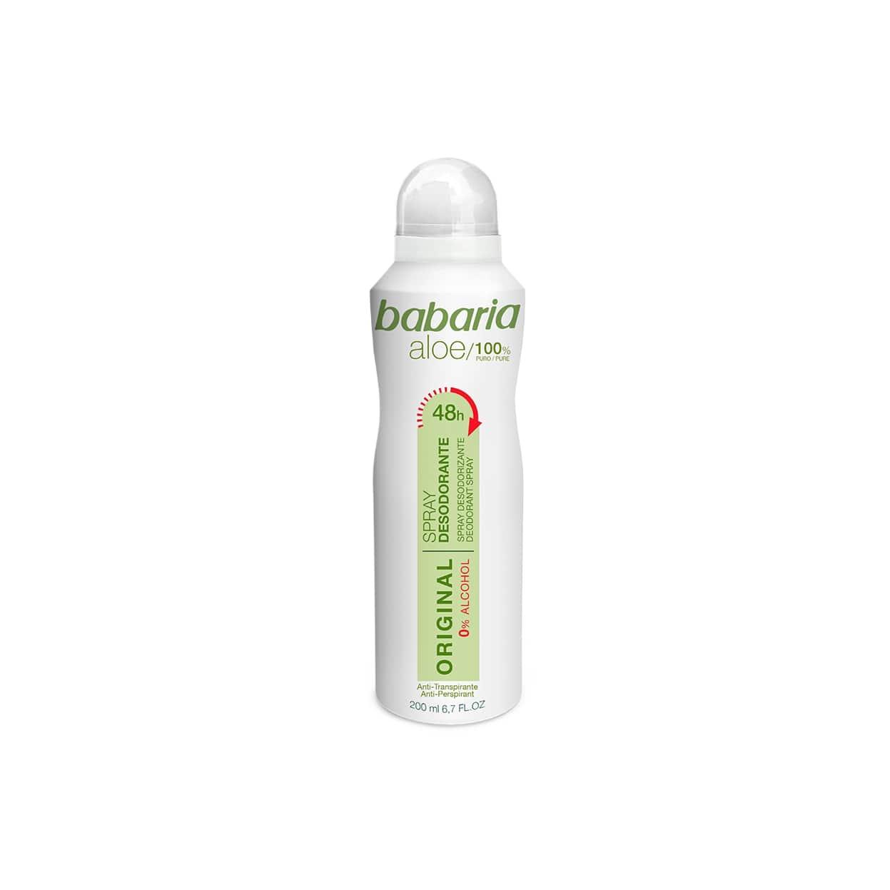 babaria deodorante spray original (200 ml)