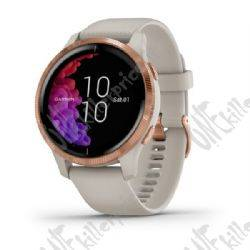 garmin venu, smartwatch bianco/rosa/oro, gps