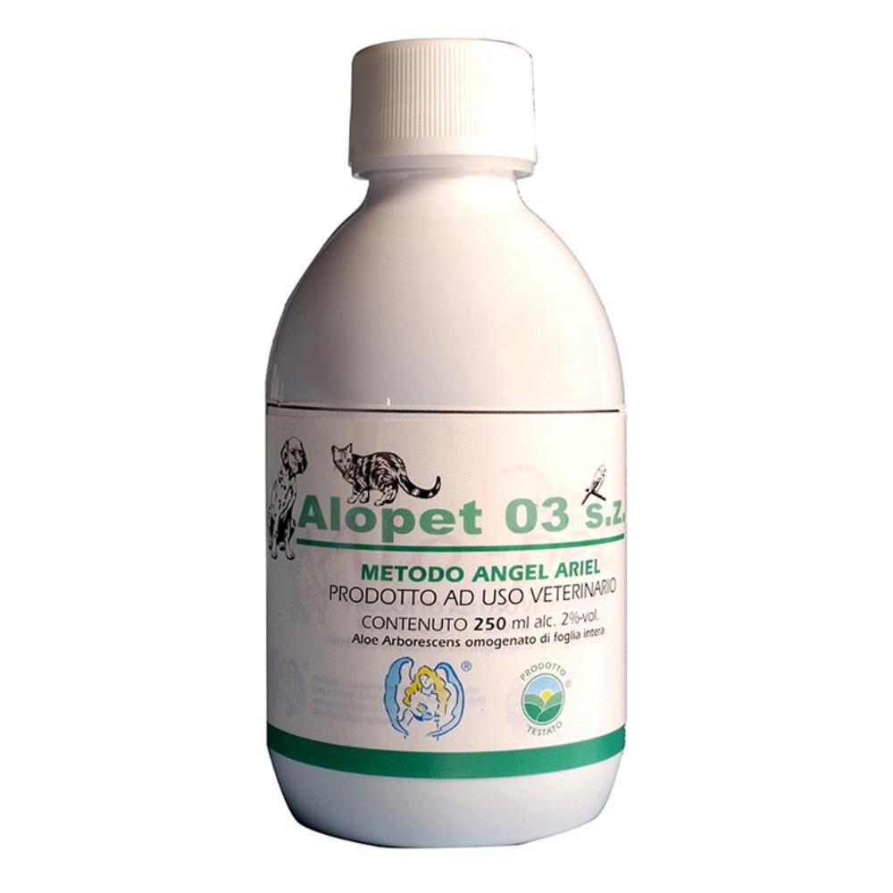 linea angel ariel srl alopet 03 senza zucchero 250ml - alimento complementare per uso veterinario