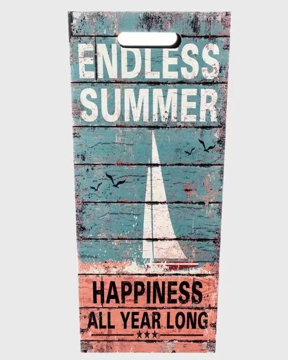 "Mobili Rebecca Portaombrelli verde e beige in stile vintage ""Endless Summer"""