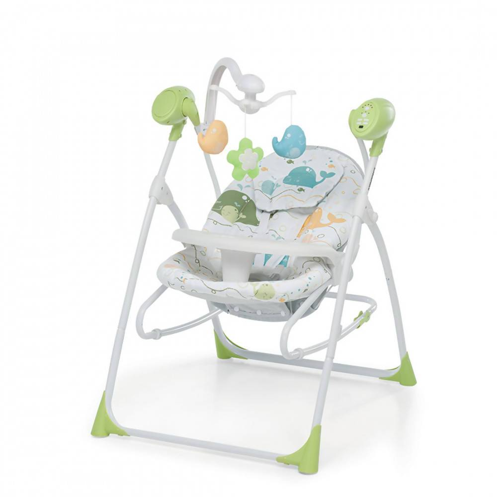 foppapedretti sdraietta carillon altalena musicale per bambini e neonati sedia a dondolo con telecomando