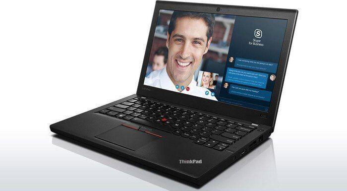 LENOVO notebook ricondizionato thinkpad x260, display 12,5' led ips hd, intel i5-6300u, 8gb di ram ddr4, ssd sata iii 256gb, hdmi/mini display port, 3