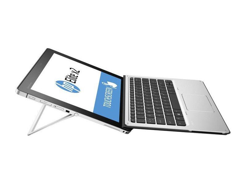 HP notebook ricondizionato 2 in 1 elite x2 1012 g1, display 12' full hd 1920x1080 touchscreen, intel core m7-6y57, 8gb di ram ddr3, ssd 256gb, 1xusb 3