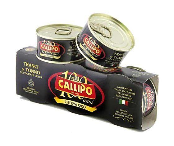 Tonno Callipo Nero Riserva Oro