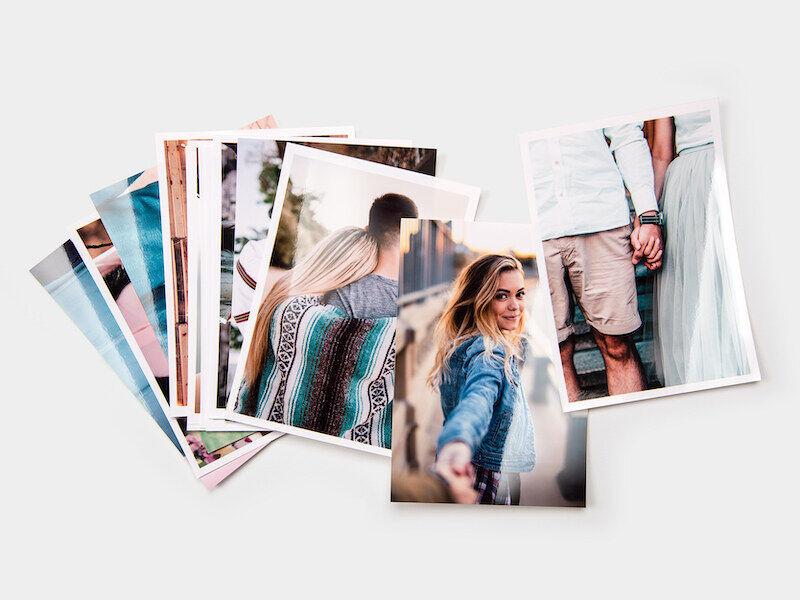 myposter stampa foto: 100 foto in formato 13x9, opache