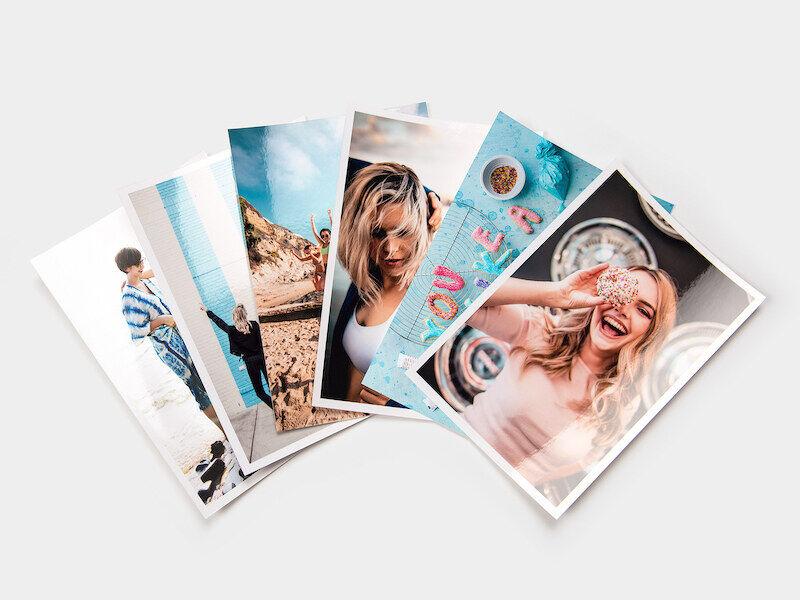 myposter stampa foto: 50 foto in formato 15x10, lucide
