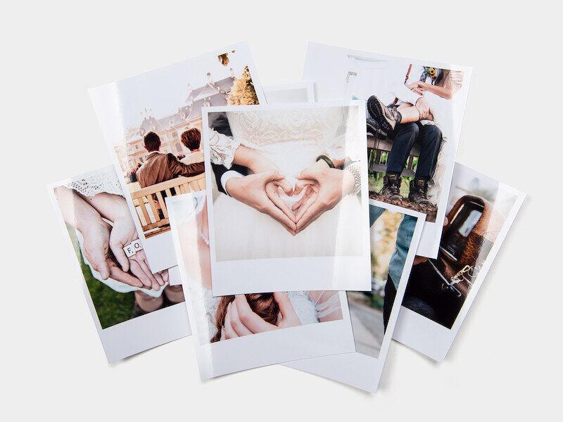 myposter stampa foto retrò: 100 foto in formato 10x12, lucide