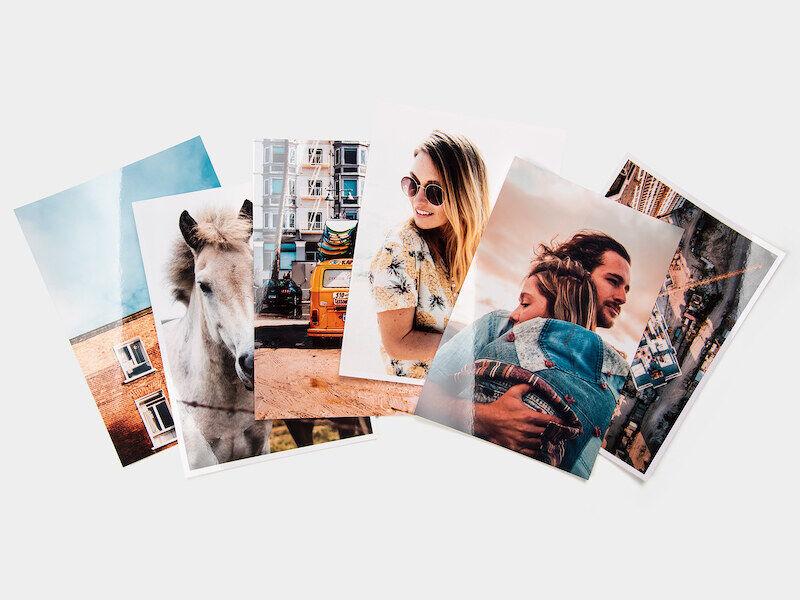 myposter stampa foto: 100 foto in formato 18x13, opache