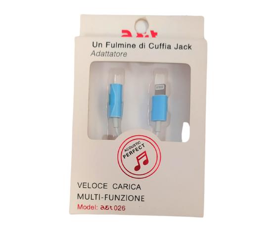 A&T Adattatore Iphone-Cuffia Jack.A&t-Cod.0040
