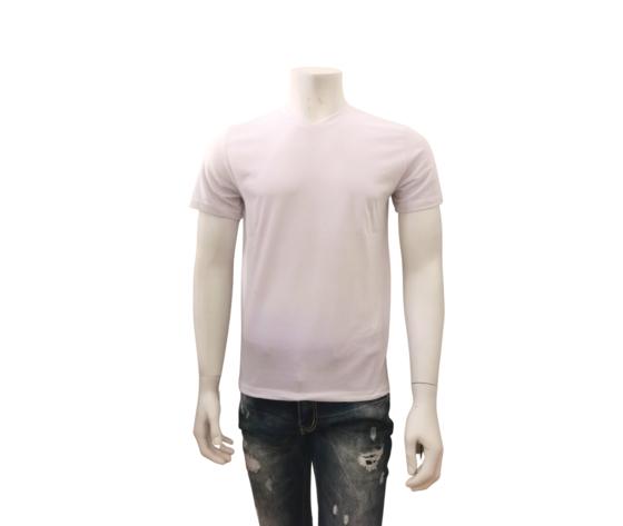 Grande uomo T-Shirt Uomo Bianco Tinta Unita - - Lb3303