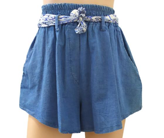 floria pantaloncini jeans donna.-art.50182