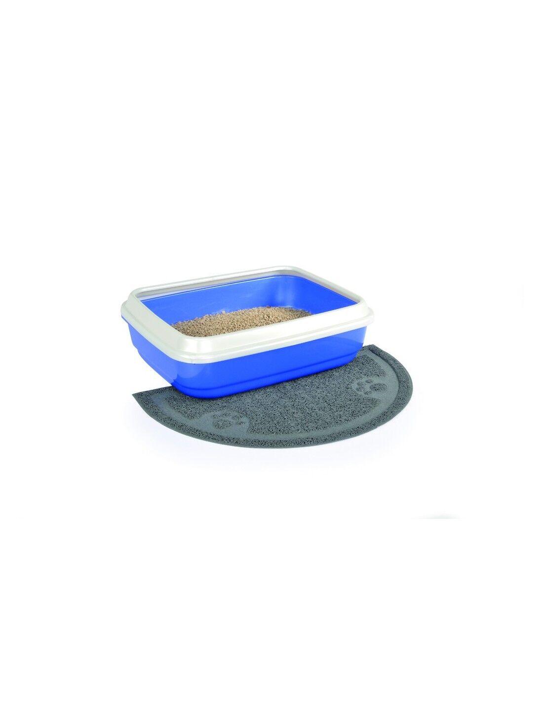 camon tappetino per lettiera igienica per gatti cm.60x36