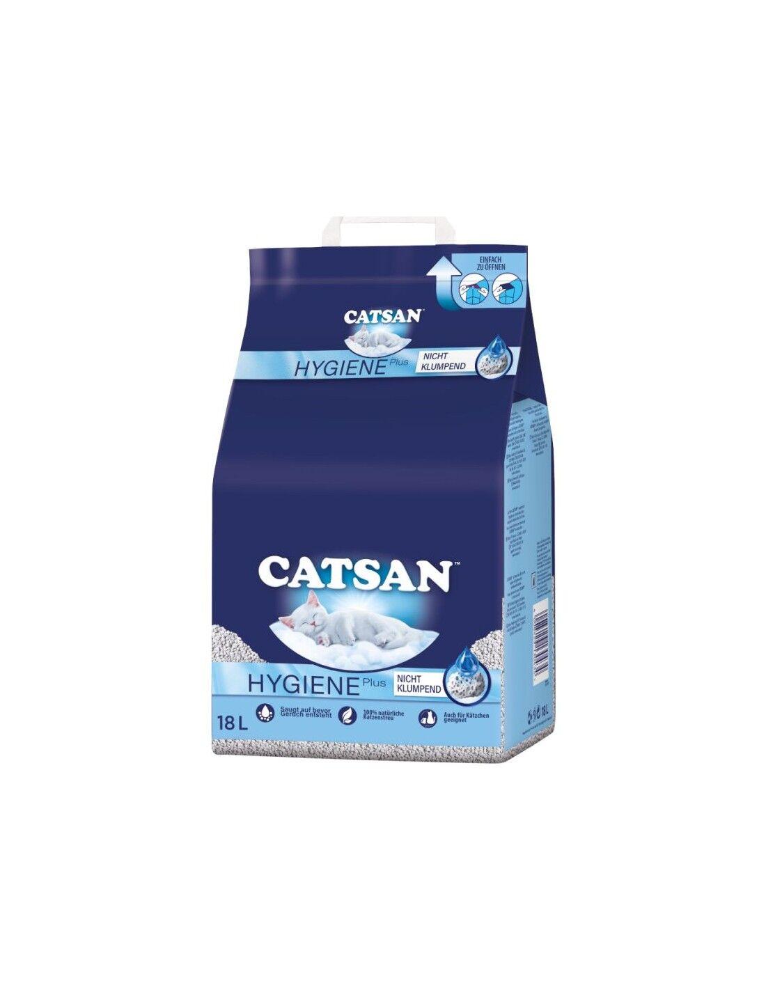 Catsan Lettiera Gatti Naturale NON AGGLOMERANTE 10 lt.
