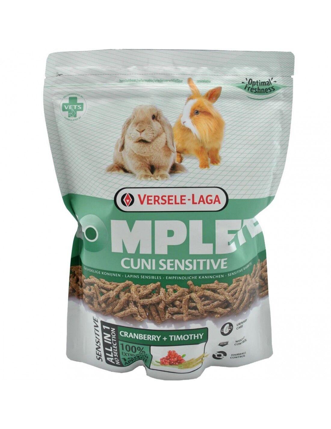 Versele Laga Cuni Sensitive Complete [Croccantini per Conigli Adulti e Anziani] gr.500
