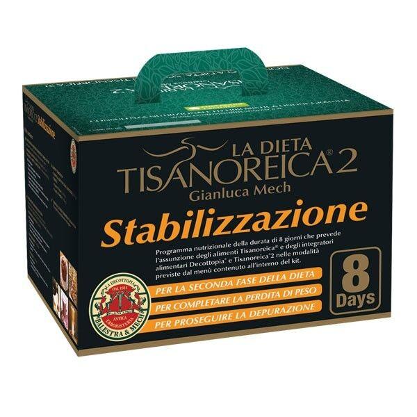 Gianluca Mech,Tisanoreica La Dieta Tisanoreica 2 – Kit 8 Giorni Stabilizzazione