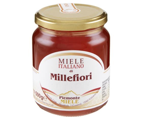 Miele Millefiori Piemonte Bio 500