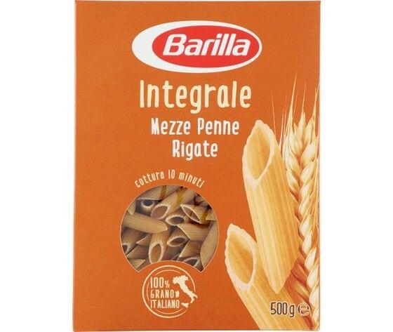 Barila Pasta Integrale Mezze Penne Gr500