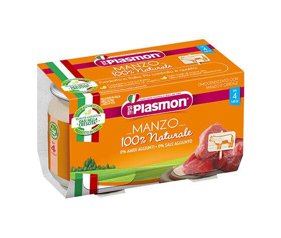 Omogeneizzato Manzo Plasmon Gr 80x2