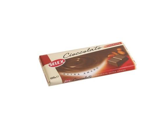 Cioccolato Selex Fondente Gr 100