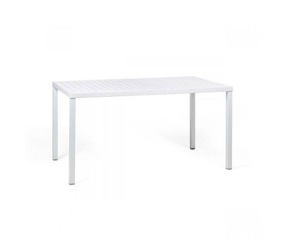 nardi tavolo cube 140x80 in polipropilene col.bianco