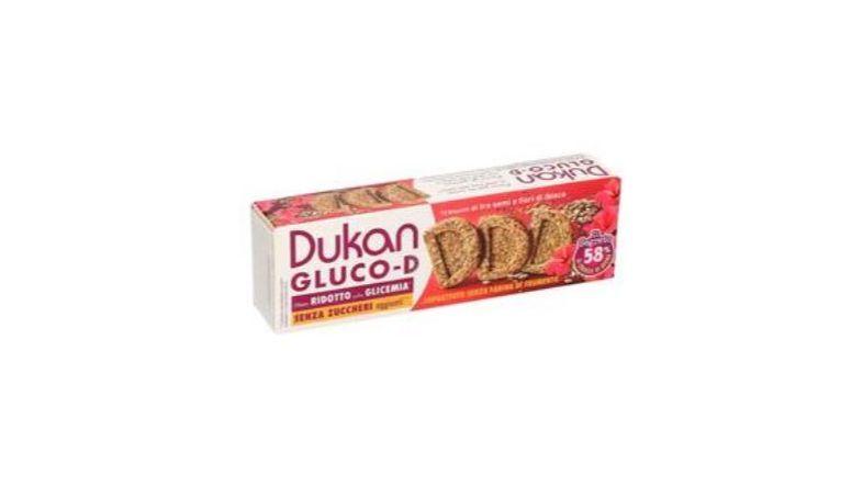 dukan gluco d biscotti ai 3 semi e fiori di ibisco 100 g