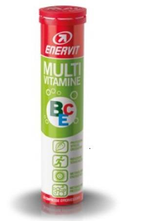 Enervit Sport Multivitamine Bce Integratore Alimentare 20 Compresse Effervescenti