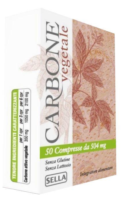 Carbone Vegetale 50 compresse