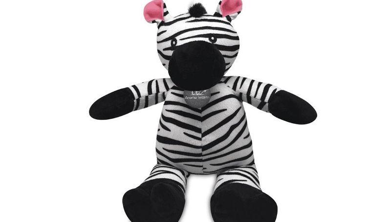 Aroma Warm Zebra Peluche Riscaldante