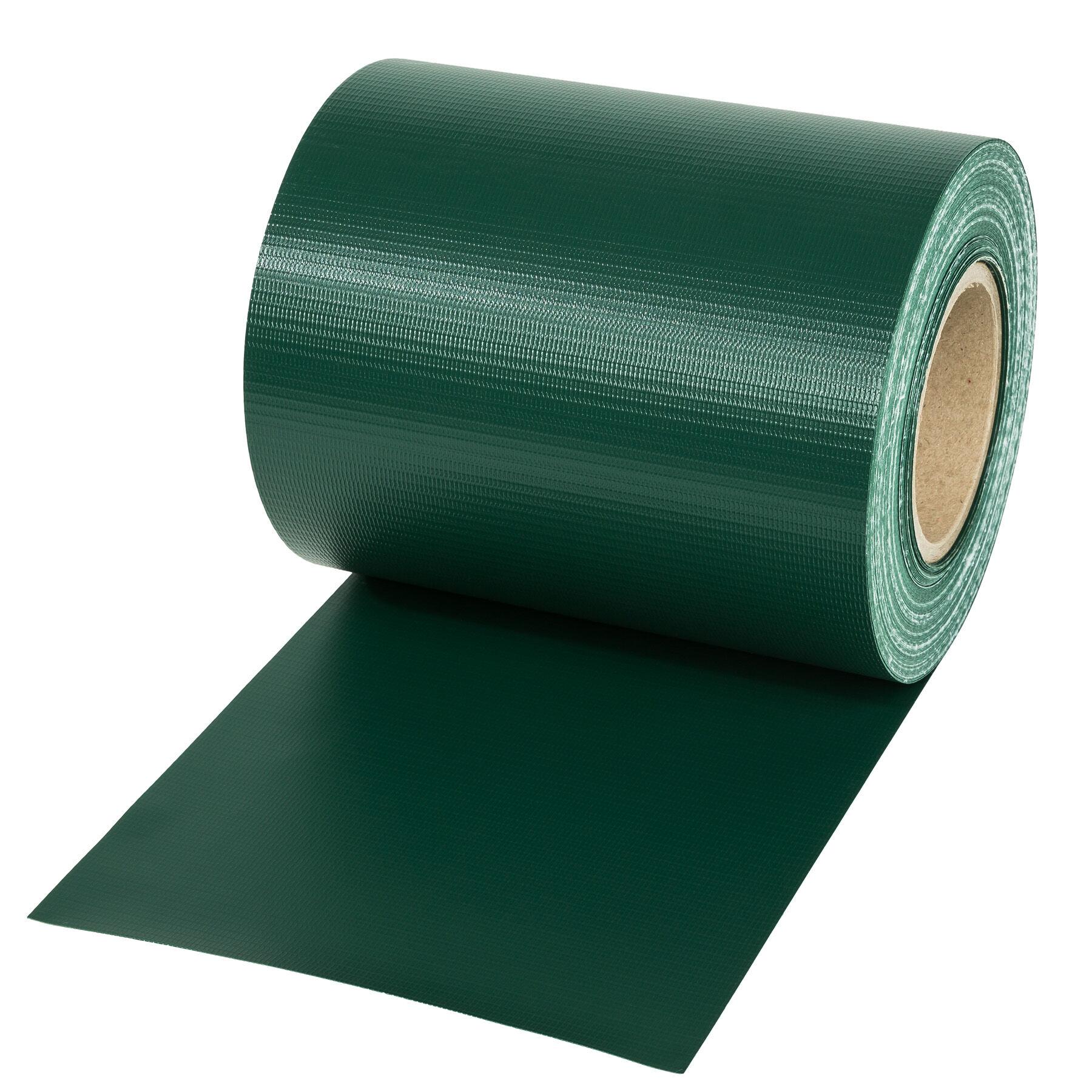 tectake frangivista in PVC - verde, 35 m