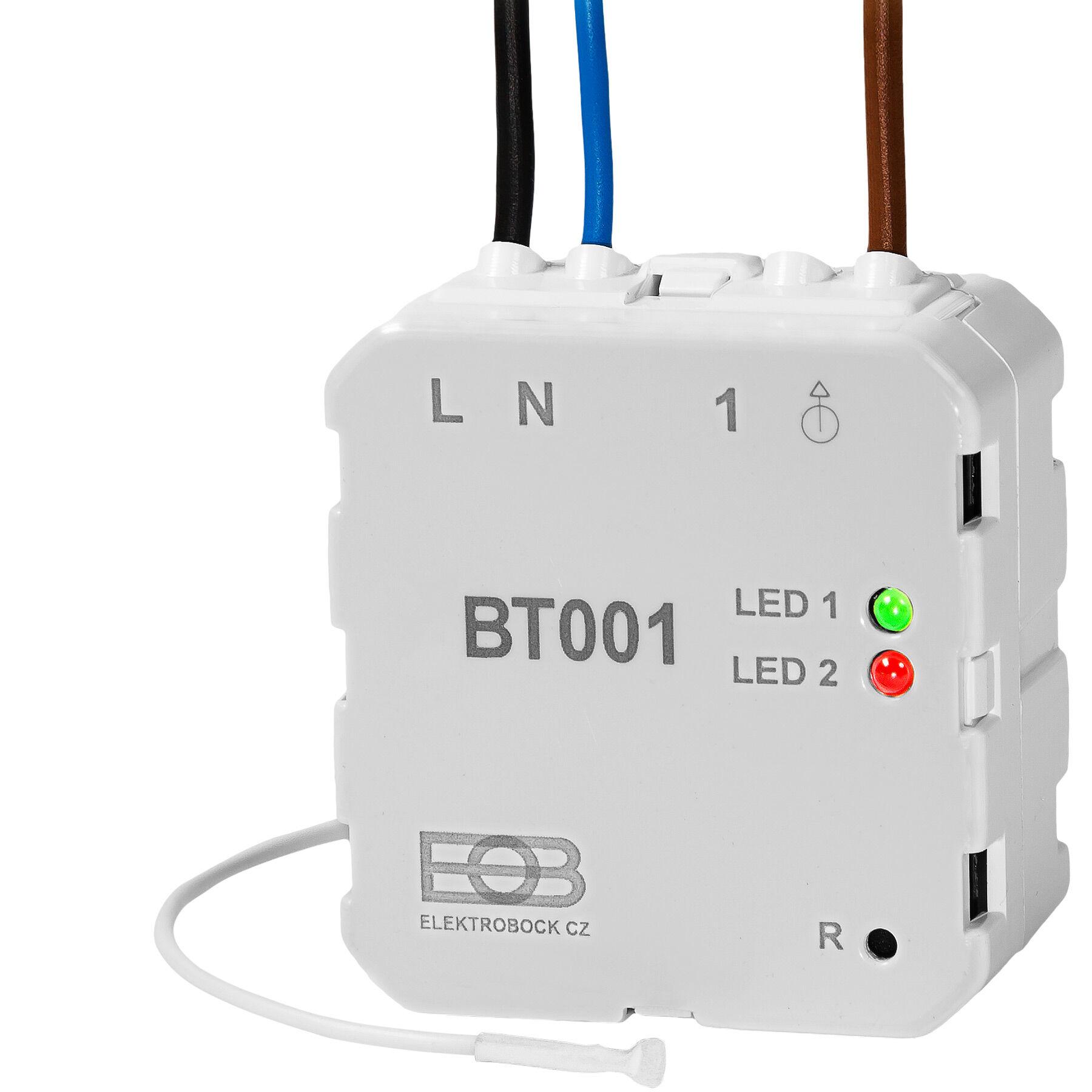 Elektrobock Ricevitore radio a incasso BT001 - bianco