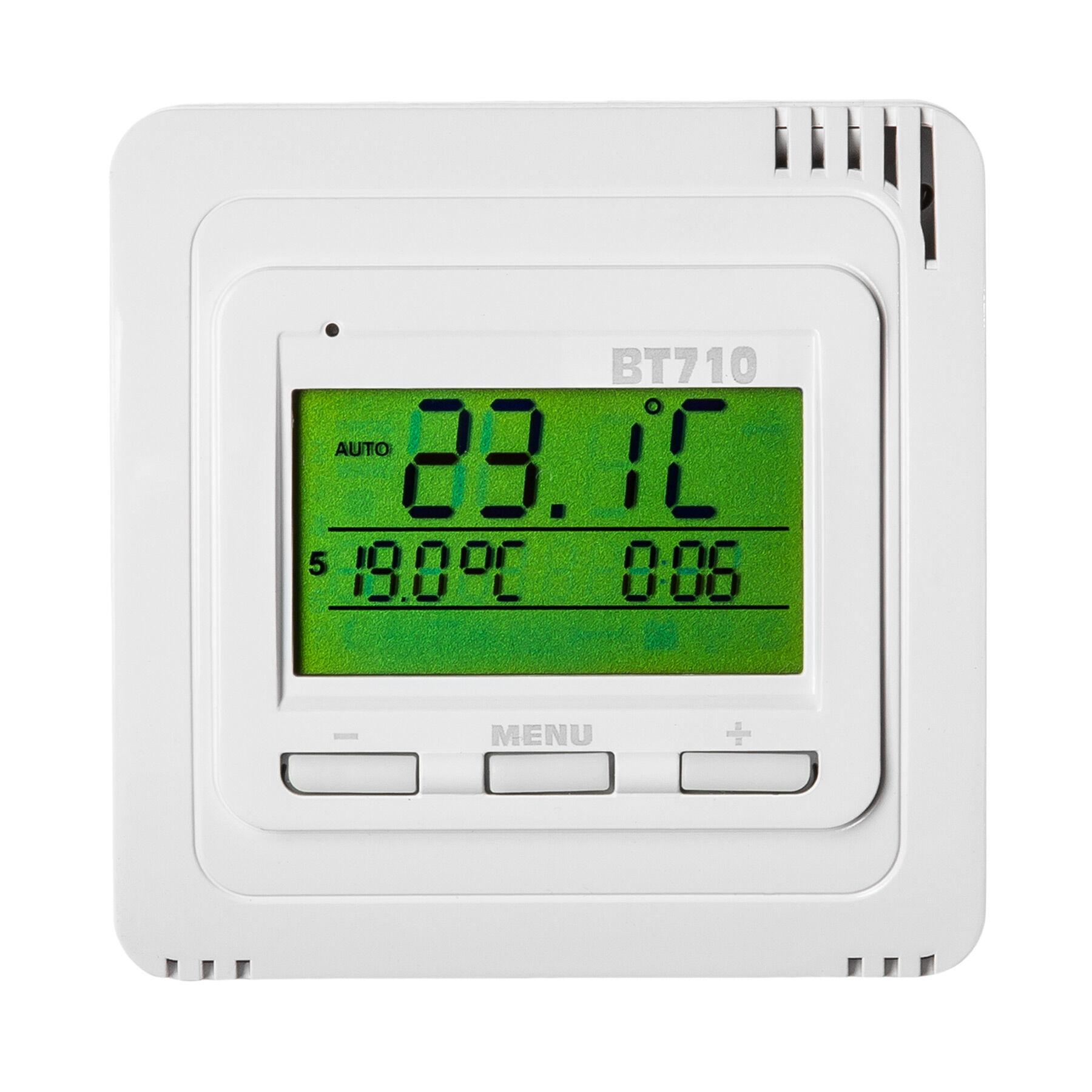 Elektrobock termostato con comando a distanza BPT710 - bianco