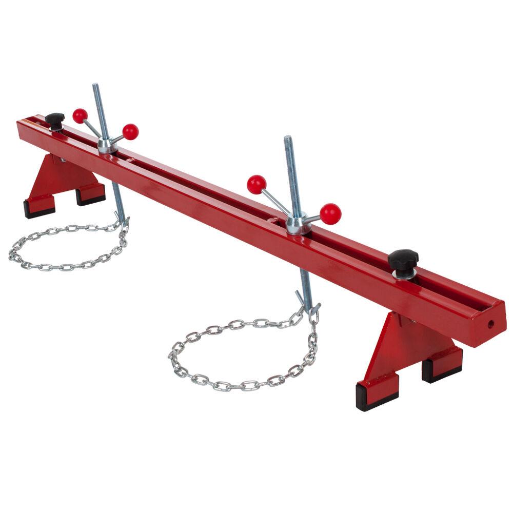 tectake ponte motore preassemblato per carichi fino a 500 kg - rosso