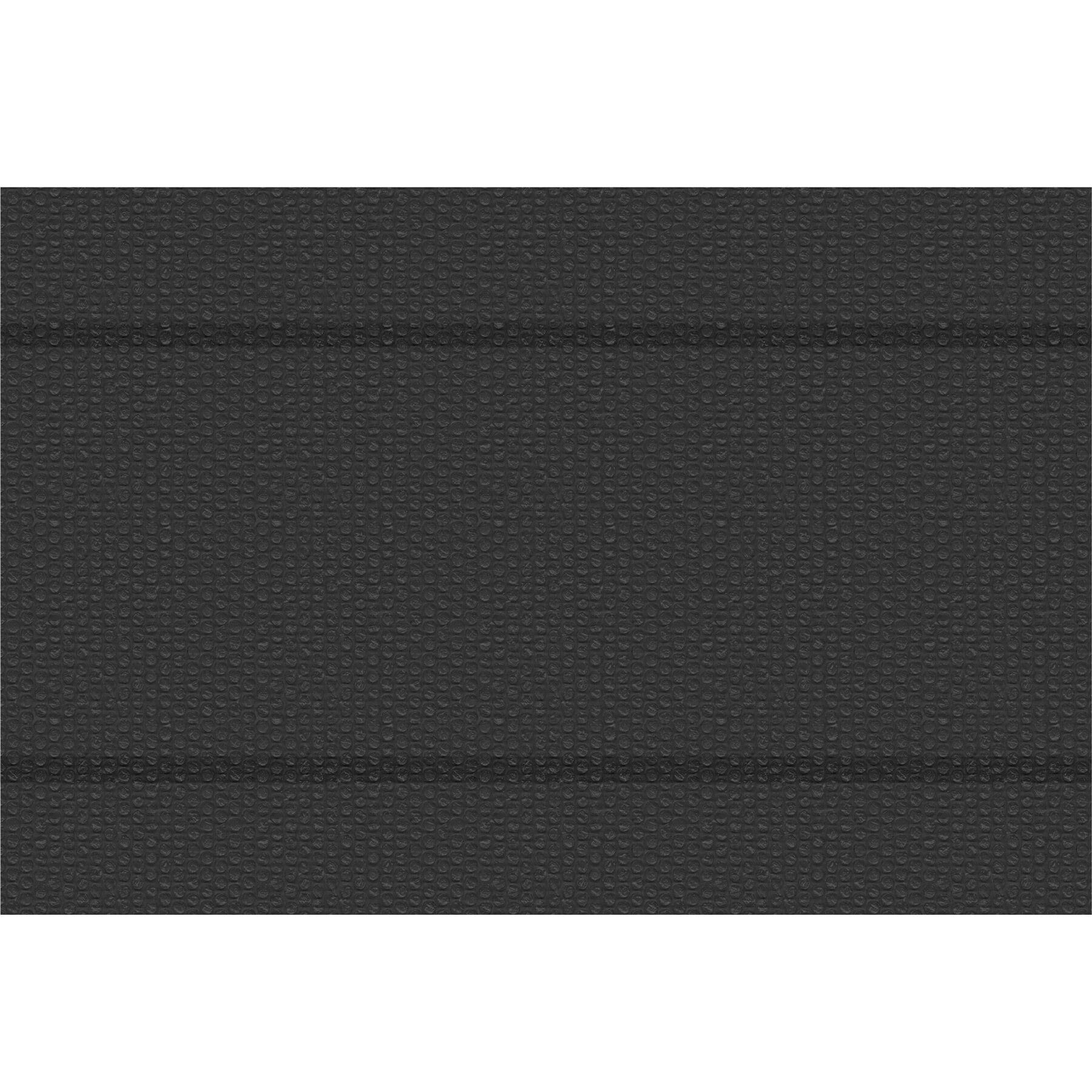 tectake pellicola solare copripiscina nera rettangolare - 400 x 600 cm