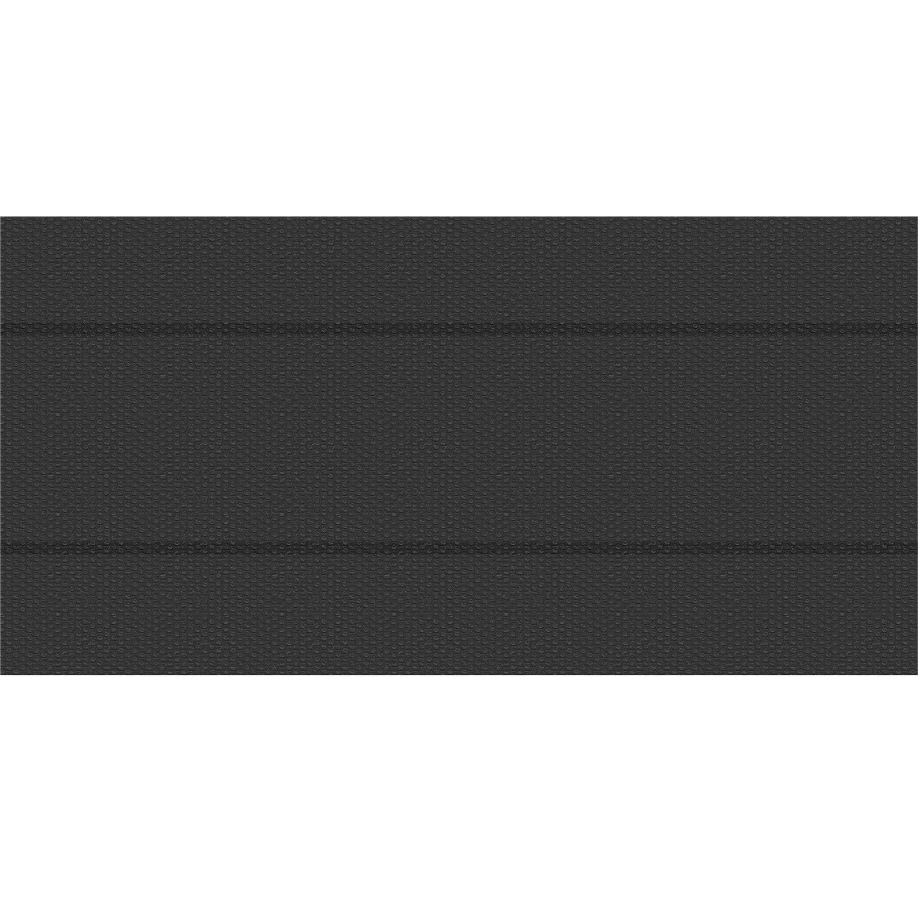 tectake pellicola solare copripiscina nera rettangolare - 500 x 1000 cm