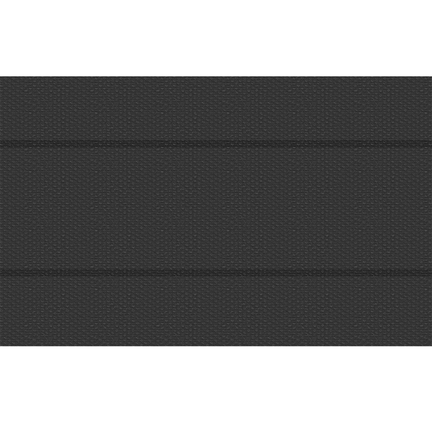 tectake pellicola solare copripiscina nera rettangolare - 500 x 800 cm