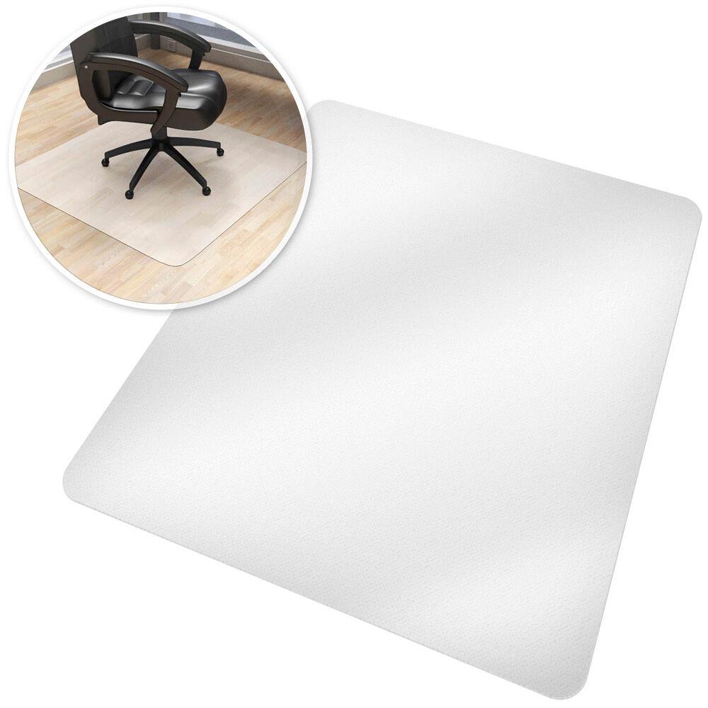tectake tappeto salvapavimento per poltrone da ufficio - 90 x 120 cm