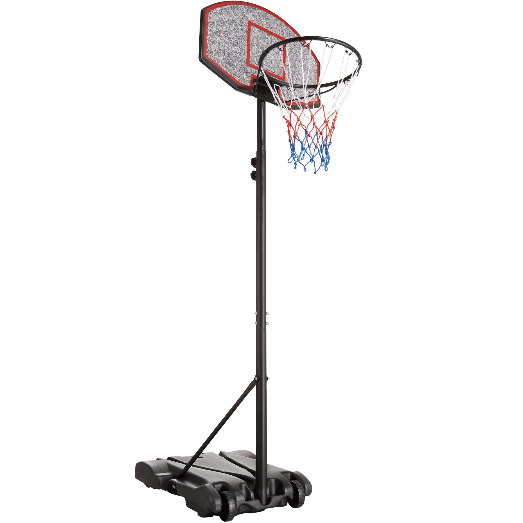 tectake Canestro da basket Harlem - nero
