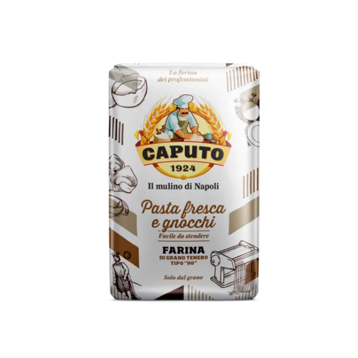 Rocard Farina Caputo Pasta Fresca E Gnocchi Kg. 5 - 1 Confezione Da 5 Kg