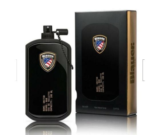 biemme profumo uomo  blauer united  man-  eau de toilette ml.100 natural spray