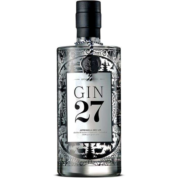 Gin 27 Premium Appenzeller Dry Gin 0.7l