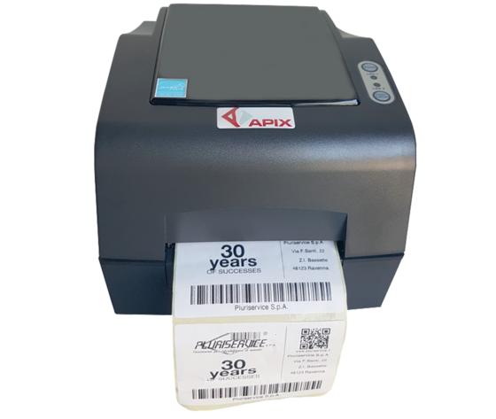 Stampante A Trasferimento Termico Apix 300 Ethernet